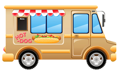 Food truck wygląd