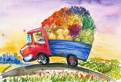 Food truck jedzenie
